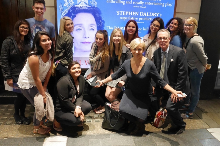 Cronkite Europe had front row seats to The Audience with Kristin Scott Thomas as Queen Elizabeth